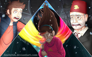 Gravity Falls - Do you really think I'm a bad guy? by AiwiloNik