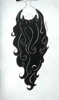 Inktober #5 - Long (Marceline AT) by AiwiloNik