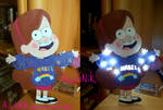 Gravity Falls - Mabel lamp! by AiwiloNik