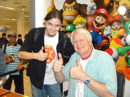Charles Martinet and I by PaulistaPenguin