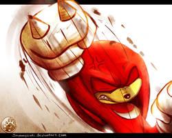 One Hour Sonic: Knuckles by Sayamiyazaki