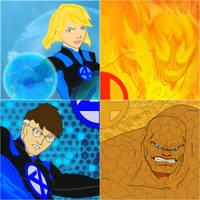 The Fantastic 4FOUR by MOMOpJonny