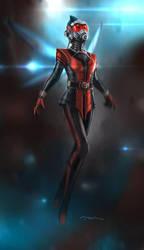 concept MARVEL Wasp by MOMOpJonny