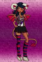 Monster High Lillith by GreenTeaDeer