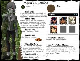 Marshall Letiche by GreenTeaDeer