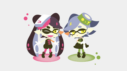 Squid Sisters by erurich