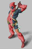 Deadpool by JulianDeLio