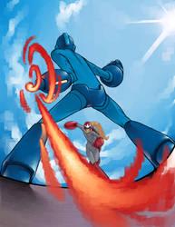 Megaman Tribute by JulianDeLio