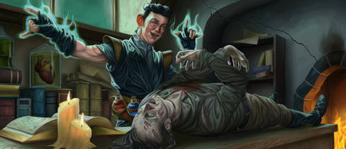 Necromancer's Apprentice by JulianDeLio