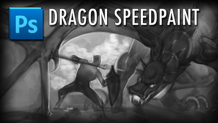 Dragon Speedpaint by JulianDeLio