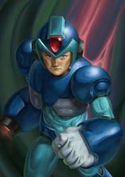 Megaman X by JulianDeLio