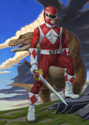 Red Ranger by JulianDeLio