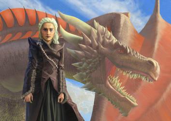 Daenerys by JulianDeLio