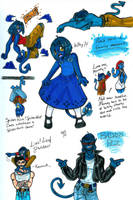 Blue Fuzzball by sanely-insane