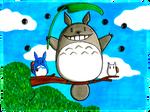 My Neighbor Totoro by peeweegraphix