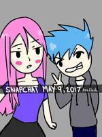 Snapchat Selfie by AznFlesh
