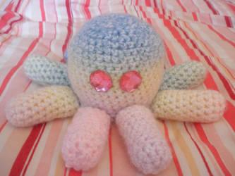 its tha rainbow squid by PinkuArt