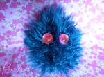 pin cushion monster no.8 by PinkuArt