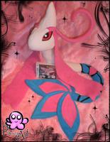 Huge Milotic plush by PinkuArt