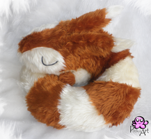 Sleeping Furret by PinkuArt