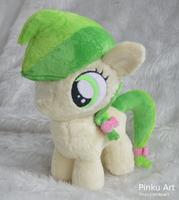 Apple Fritter Filly plush by PinkuArt