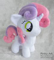 Sweetie Belle plush by PinkuArt