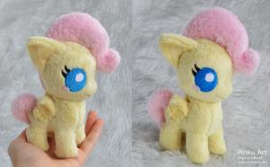 Tiny baby Fluttershy plush by PinkuArt