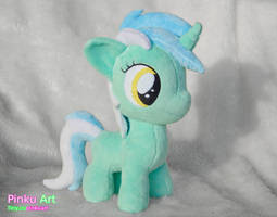 Lyra Heartstrings filly plushie by PinkuArt