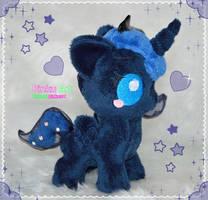 Baby Luna plush by PinkuArt