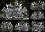 Dragon OC Ullises - most detailed plush ever by PinkuArt