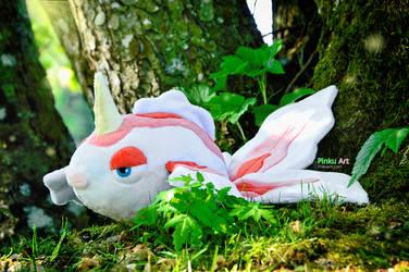Goldeen plush I Pokemon by PinkuArt