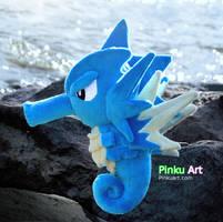 Seadra plush by PinkuArt