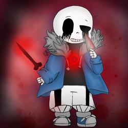 Found You~ [Killer!Sans] artwork by BubbleIce720