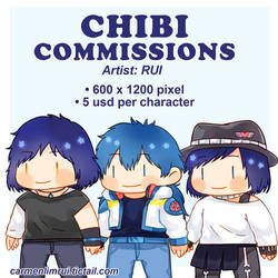 Chibi Commissions by RUI09