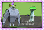 Metalhead supporter Stamp by Lady-ALTernate