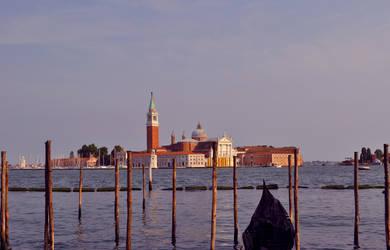 Sunset over Venice by katja666777