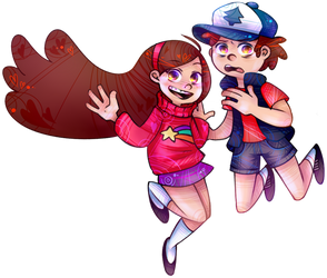 Pines Twins by MonsterKirsche