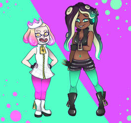 Pearl and Marina by MonsterKirsche