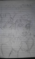 normal jojo sketch by DanishTheBaddrawer