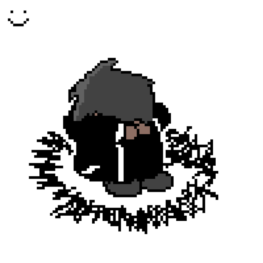 depressed dude. by DanishTheBaddrawer