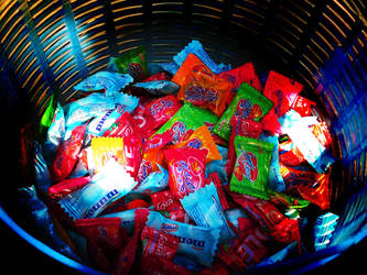 Sweet Candy In Basket by scodex