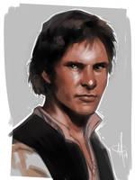 Han Solo by mattolsonart
