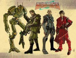 InterGALactic characters 1 by mattolsonart