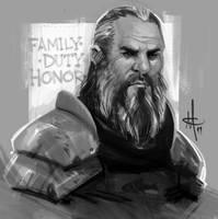 Ser Brynden Tully, The Blackfi by mattolsonart