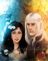 Lyanna and Rhaegar by mattolsonart