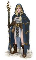 Sorceress Ytira by mattolsonart