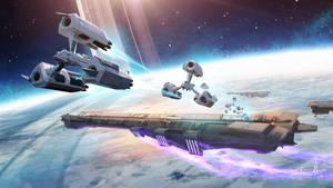 Space Pirate Raid by mattolsonart
