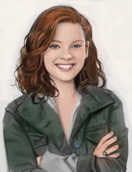Jane Levy Portrait by mattolsonart