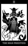 02 - The High Priestess - Clovis  [SCP-2999-A] by SunnyClockwork