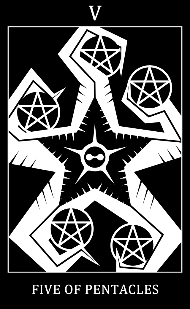 Five of Pentacles: The Fifthism God